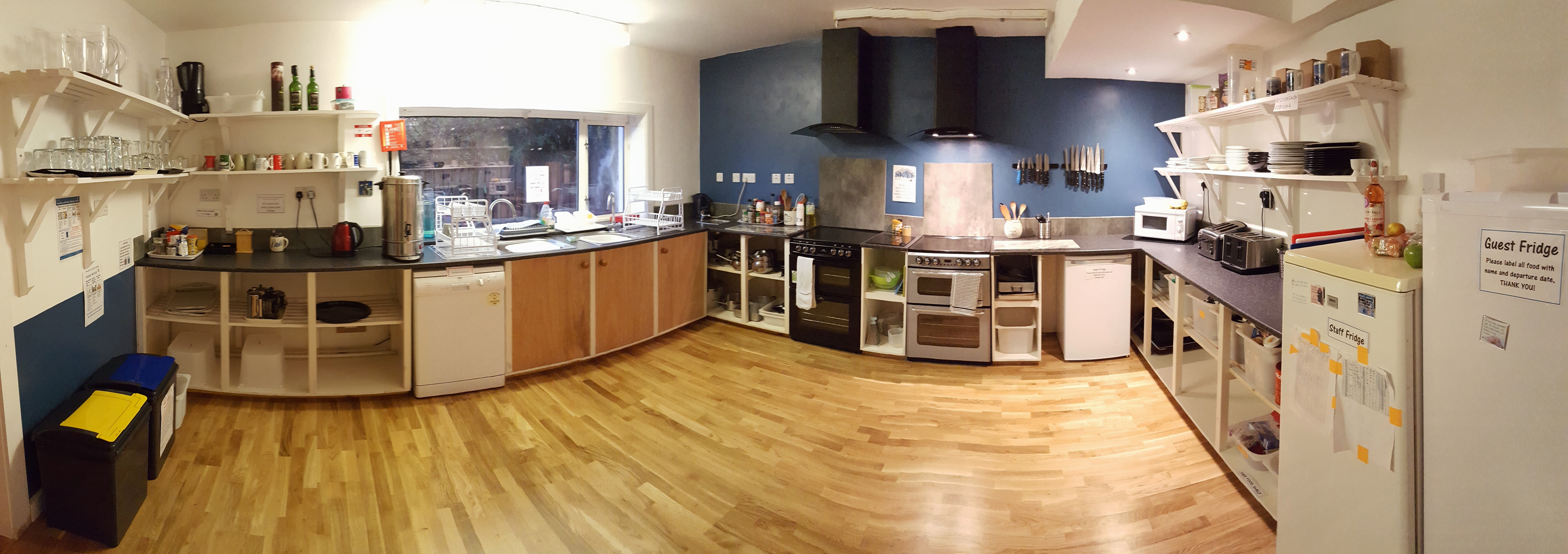 kitchen facilities We have a brand new kitchen facility which is available for your function which has two ovens and hobs , a double sink with drainers kitchen facilities parking.